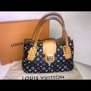 Authentic Louis Vuitton multicolor nior griet tote